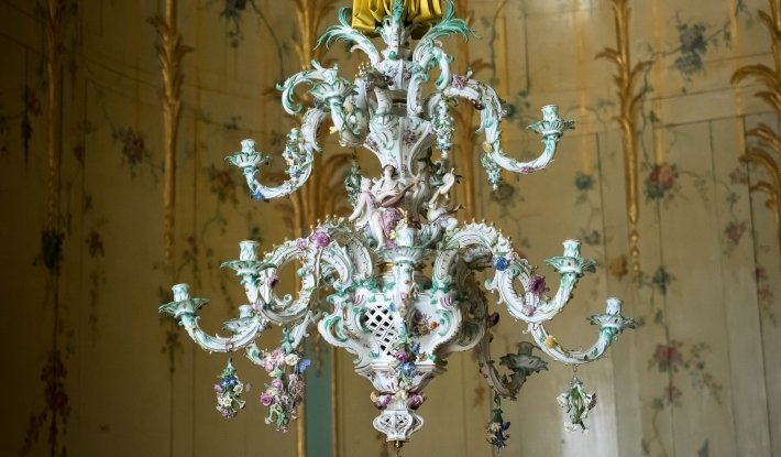Meissen chandelier