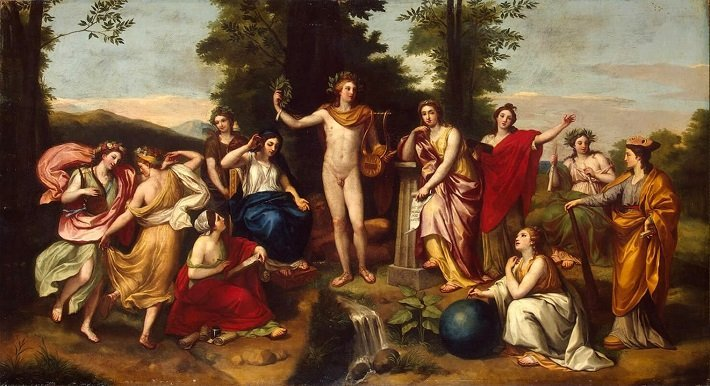 neoclassical painting anton raphael mengs fresco