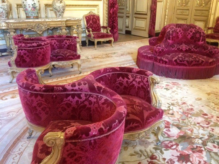 Napoleon III style seated furniture