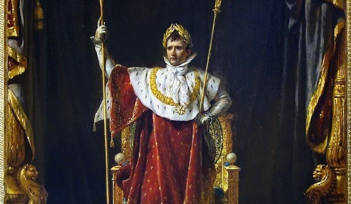Emperor Napoleon by Jacques-Louis David, 1805