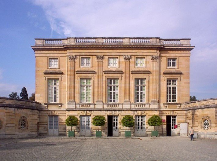 Photo of the Petit Trianon, Versailles