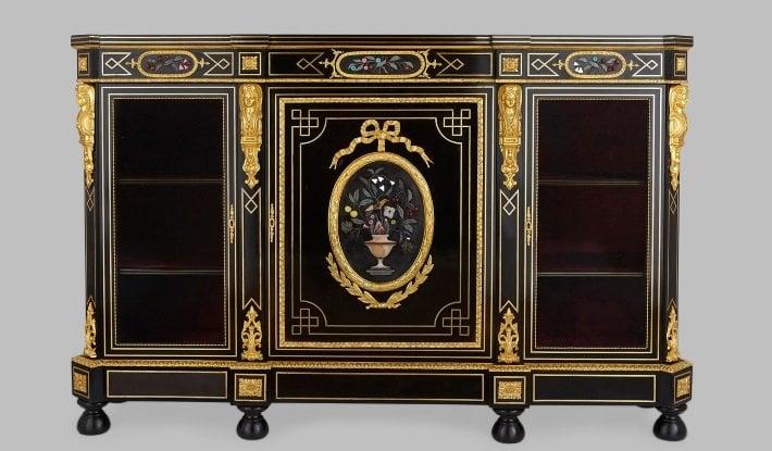 napoleon iii style vitrine