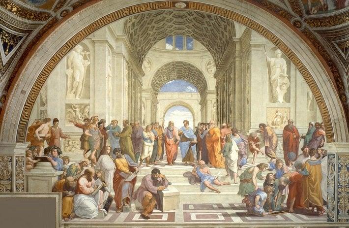 neoclassicism raphael fresco