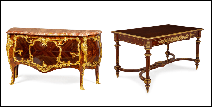 Commode and desk by Sormani