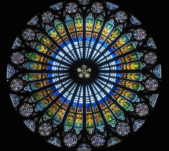 Rose window Strasbourg