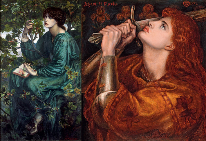 Rossetti paintings