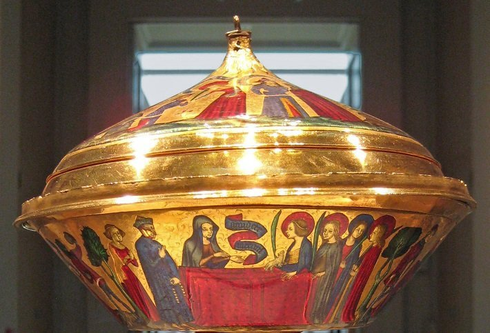 The Royal Gold Cup at the British Museum