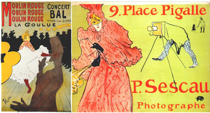 Posters by Toulouse-Lautrec