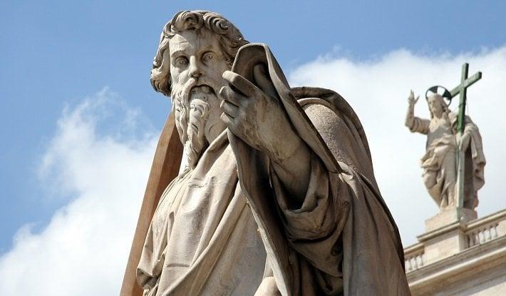 Vatican St Paul statue