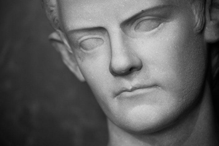 Marble of Roman Emperor Caligula