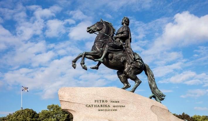 Etienne Maurice Falconet's 'Bronze Horseman'