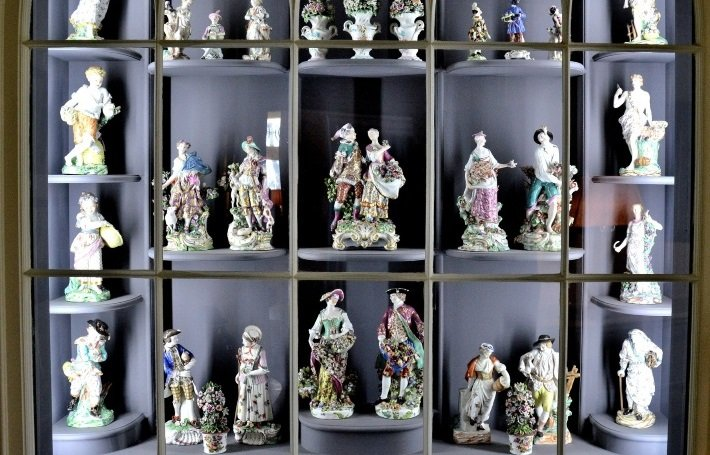Porcelain room at Fenton House