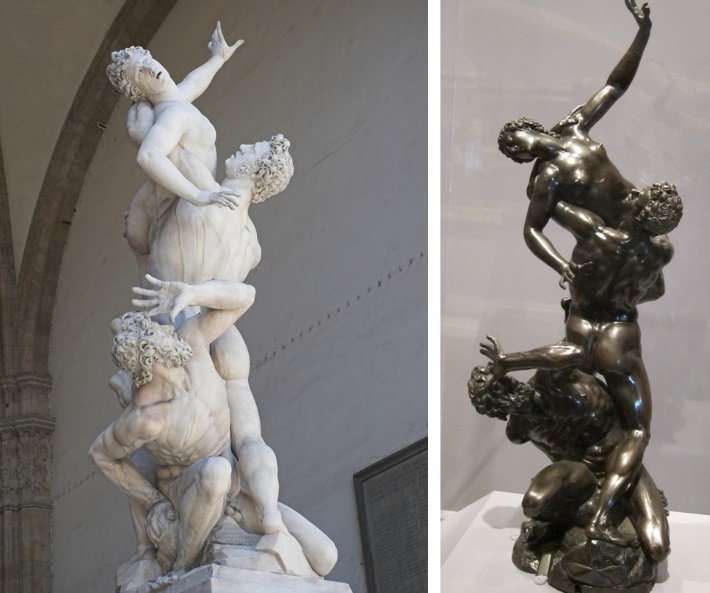 Giambologna's 'Kidnapping of the Sabine Women'