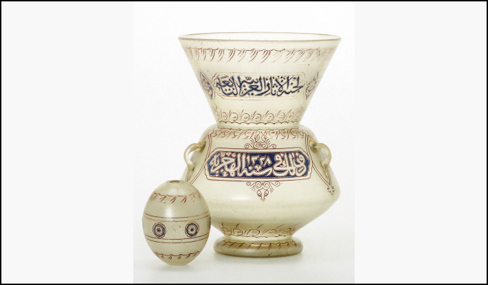 Mosque lamp from the Khalili Collection