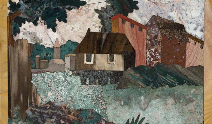 Pietra dura panel c. 1600