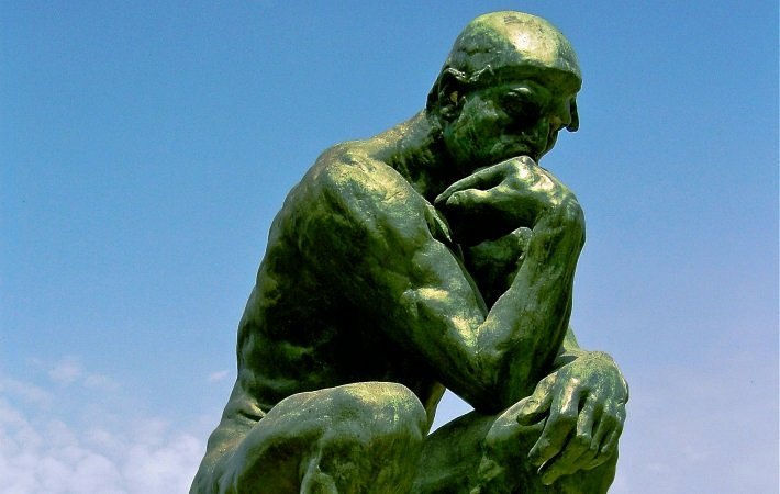 Auguste Rodin's 'The Thinker'